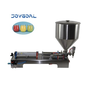 Joygoal -factory wholesale China supplier hand operated filling machine/ manual cosmetic/paste/sauce/cream packing machine