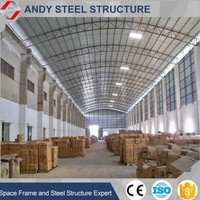prefabricated factory shed steel structure industrial warehouse shed