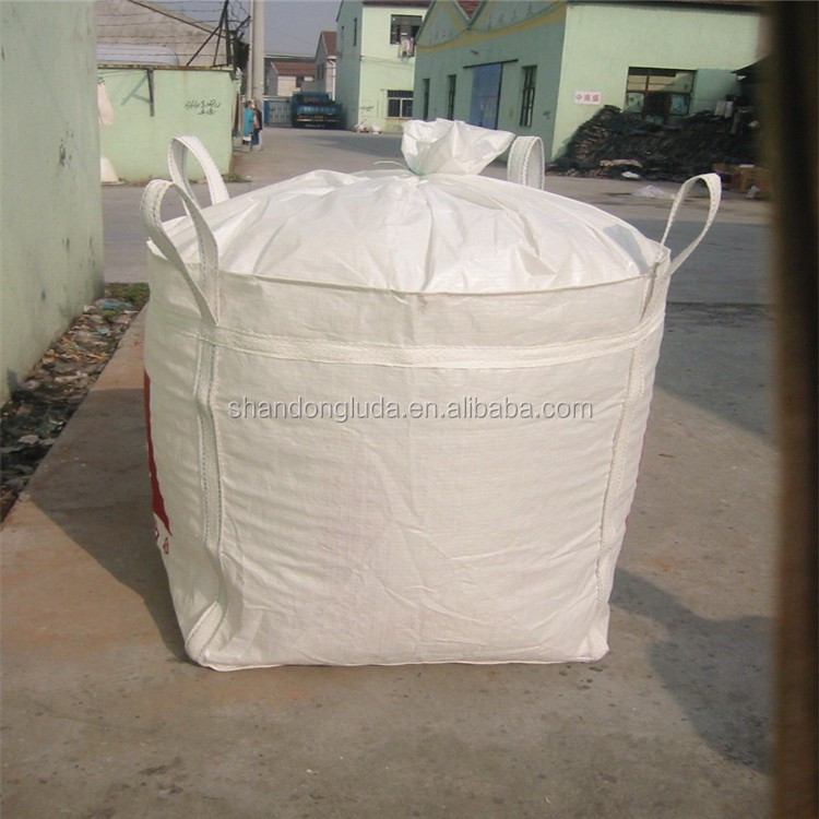 coated U-Panel big bag/overlock stitch/ non-food grade jumbo pp woven ton bag