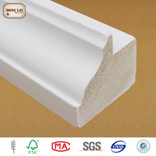Custom Waterproof Durable Primed Dado Flat Supplier Door Casing Moulding Jamb Wood Frame
