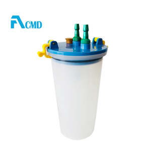 1L-4L Reusable Medical Suction Jar For Medical Gas Pipeline System