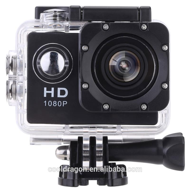Sports HD Mini DV F23 1080P Manual Wifi Action Camera with Waterproof Housing