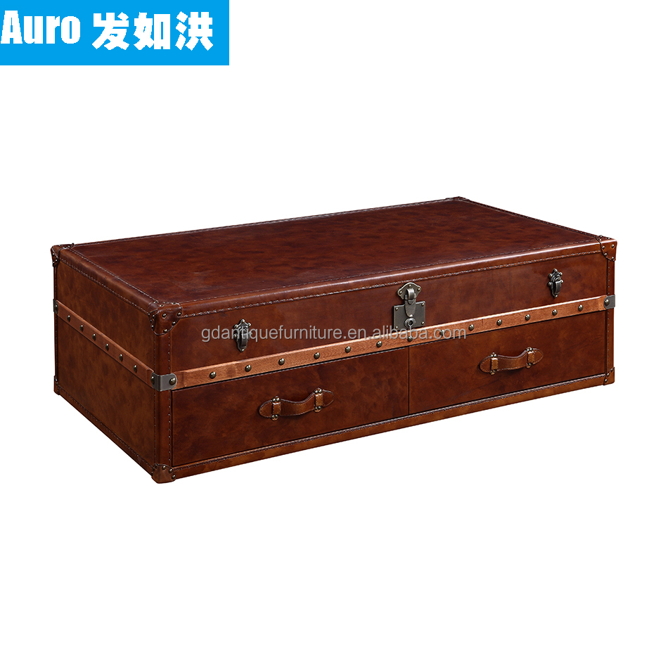 Leather Trunk Table Leather Trunk Table Suppliers And Manufacturers At Alibaba Com