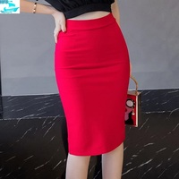 HFS1083B Latest Design Elegant Ladies Pencil Skirts