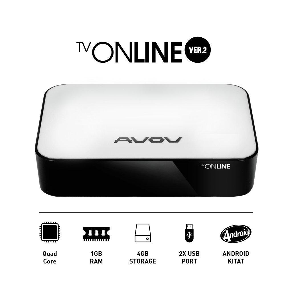 Buy Avov TVonline 4 IPTV Set-Top Smart TV Box OTT Android