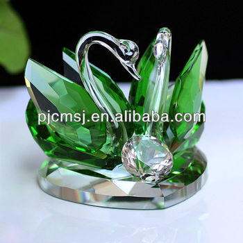 Wholesale Exquisite Cheap Crystal Wedding Favors Swan For Souvenirs