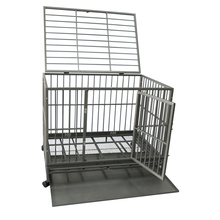 Foldable Pet Soft dog cage stainless steel