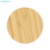 Fashion Walnut Wooden Qi Portable Fast Wireless Charger For Iphone 8 X