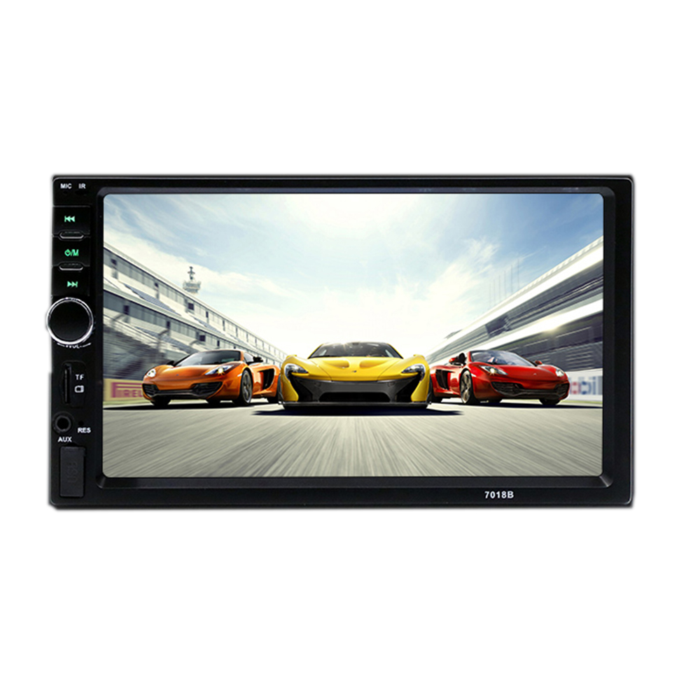 7 Inch Multimedia HD Bluetooth Touch Screen LCD Monitor Double Din Car Stereo Radio MP5 MP3 FM Player