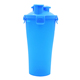 Top quality BPA free FDA standard dual bottle 600ml custom protein shaker bottle