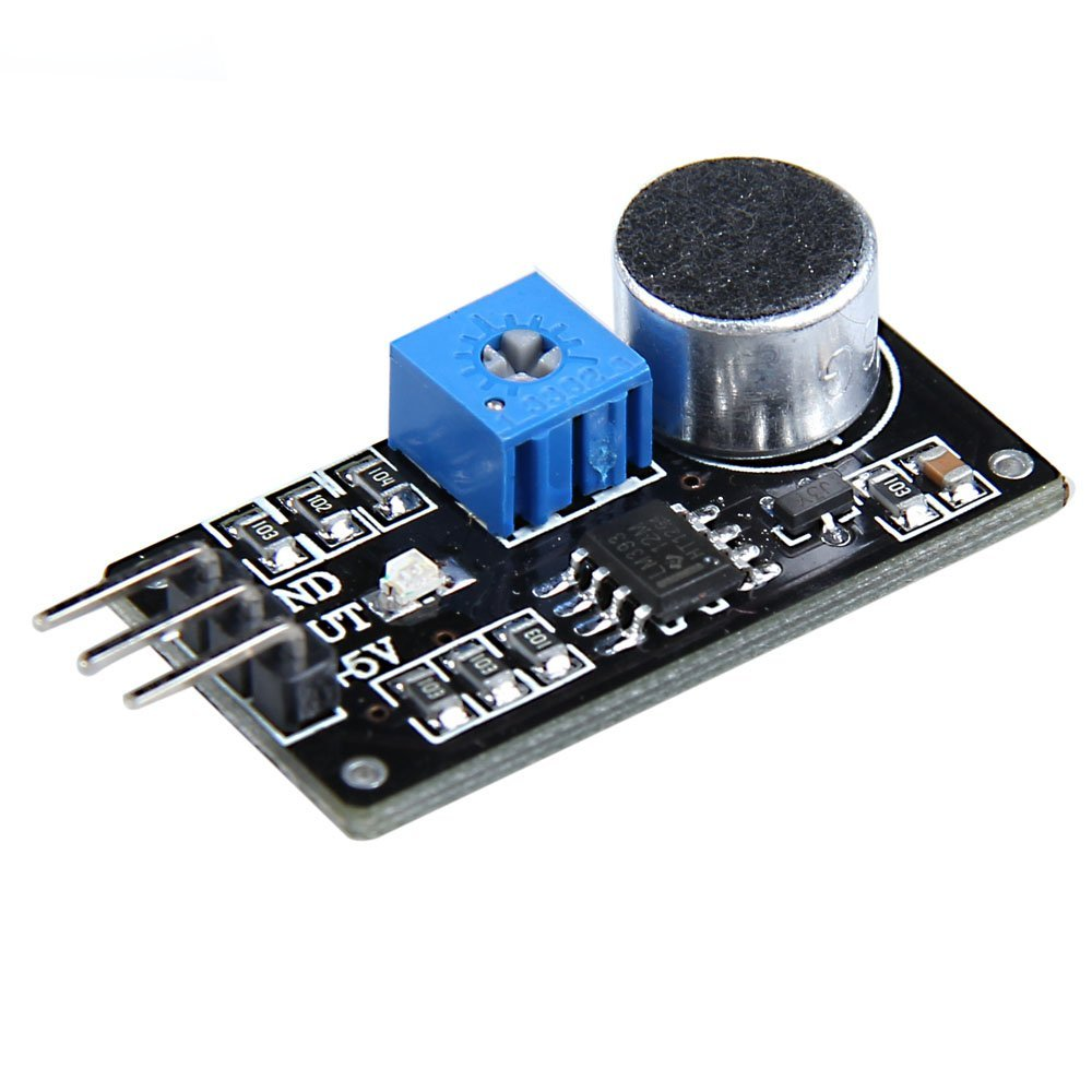 Cheap Sound Detection Circuit Find Deals On Battery Charger Lm393 Picture Of Good Electronic Get Quotations Alloet New Sensor Module Dc 4 6v Intelligent Vehicle For Arduino