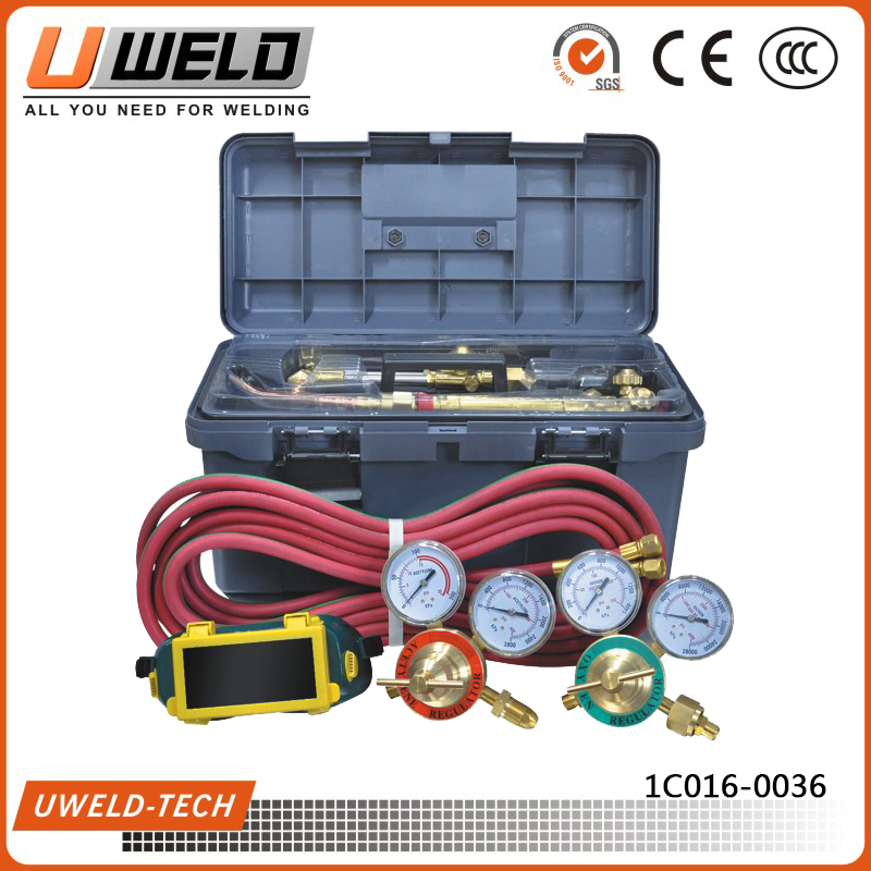 UWELD Portable Heavy Duty Welding Tool Kit with Plastic Tool Box