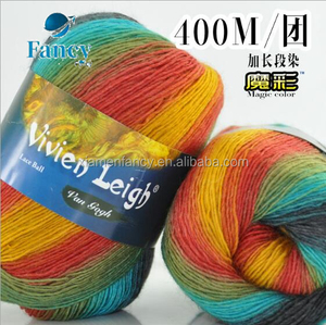 superwash wool yarn for hand knitting australia wool crocheted yarn 100g/ball Merino Wool Super Soft 400meter per ball
