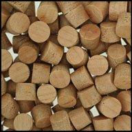 "WIDGETCO 5/16"" Cherry Wood Plugs, Face Grain"
