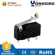 Hot sale 5A 250V AC Long lever Electric basic Micro Switch
