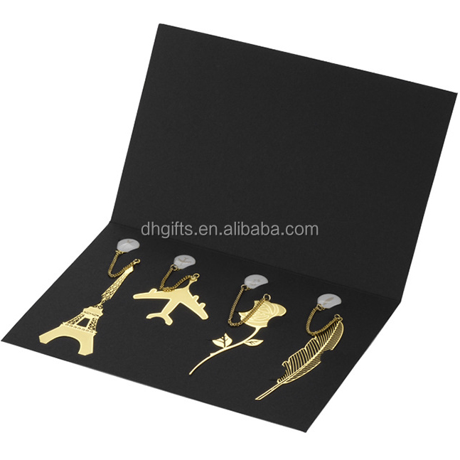 Customized Logo Business giveaways gift set bookmark gift set <strong>promotion</strong>