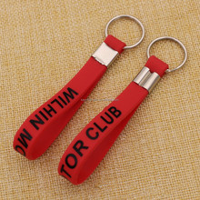Key holder wristbands, silicone key chain, silicon keychain