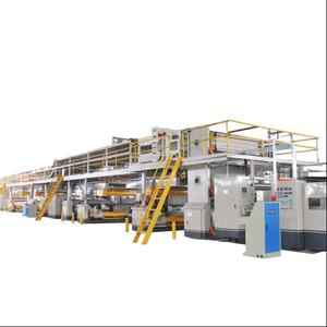 5 ply automatic corrugation plant/corrugator/carton production line