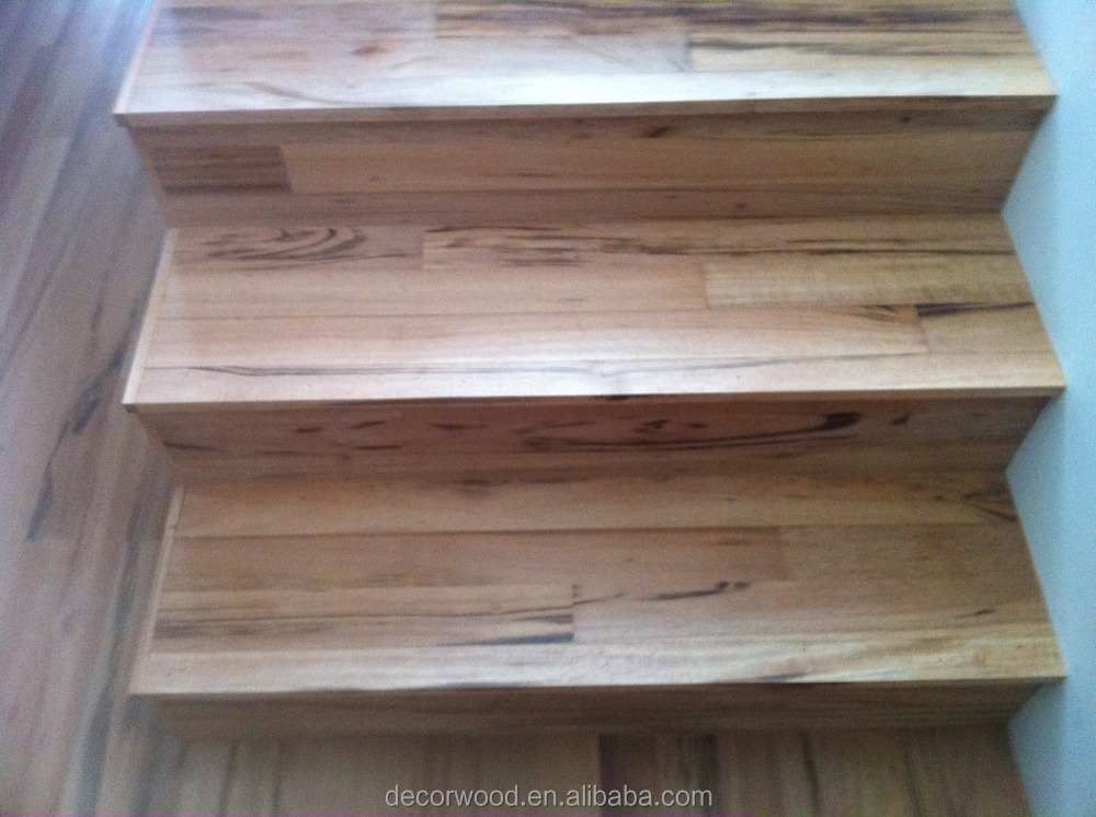 Popular Hardwood Stairs Design Stairs Parts Solid Wood