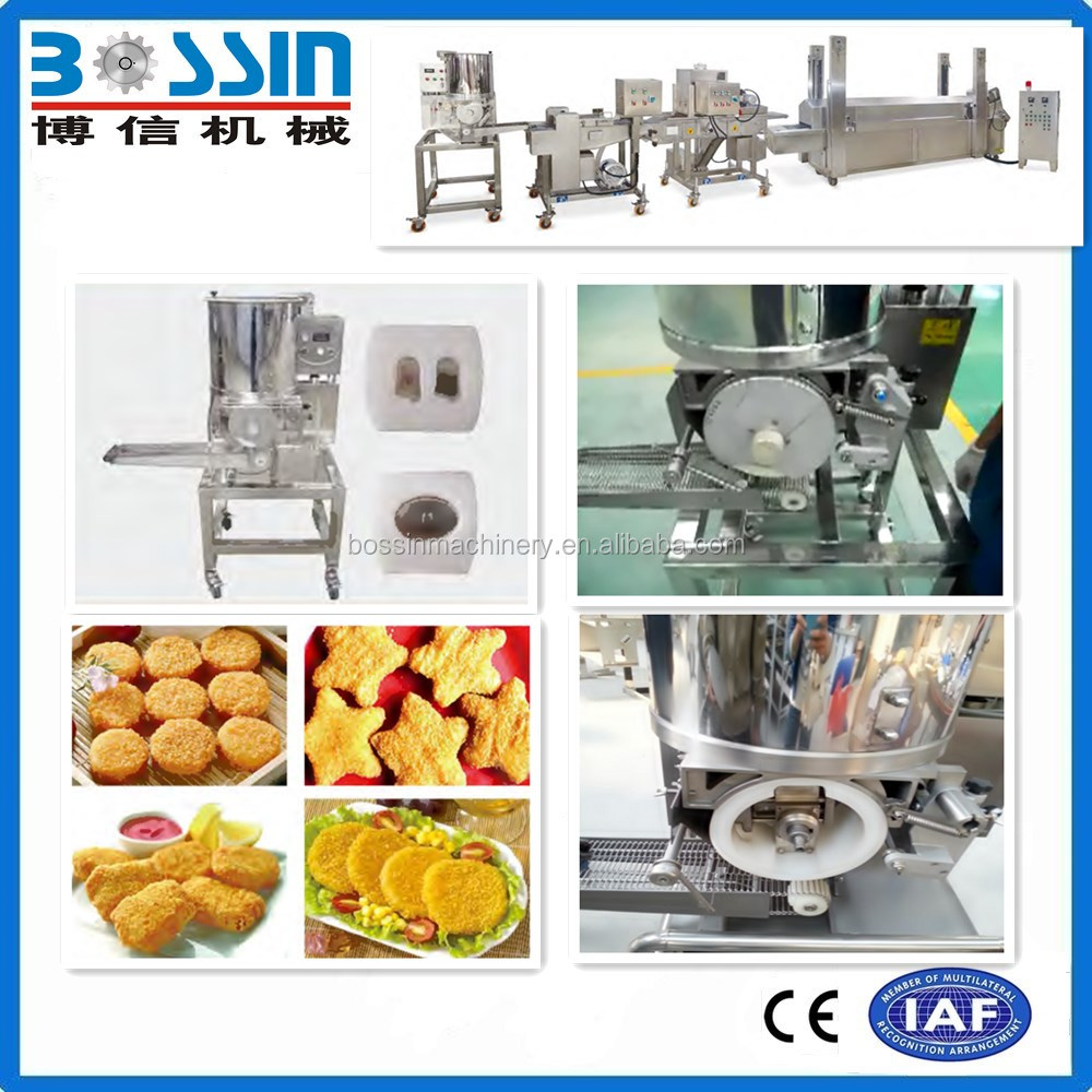 Hot sale automatic burger patty forming machine