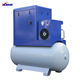 XLAMTD10A-S1 10HP 7.5KW AC power screw air compressor machine with air dryer and 350L air tank