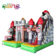 2015 Funworld Funny And Popular Inflatable Castle Bouncer/Inflatable Bouncy Castle