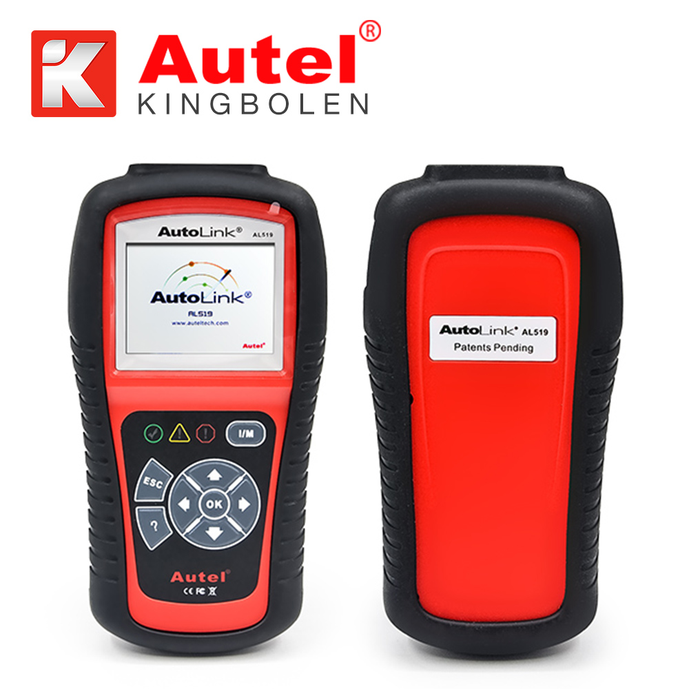 Original Autel Autolink AL519 scanner with promotion price ORIGINAL Autel AL 519 Code Reader work on ALL 1996 and newer vehicles
