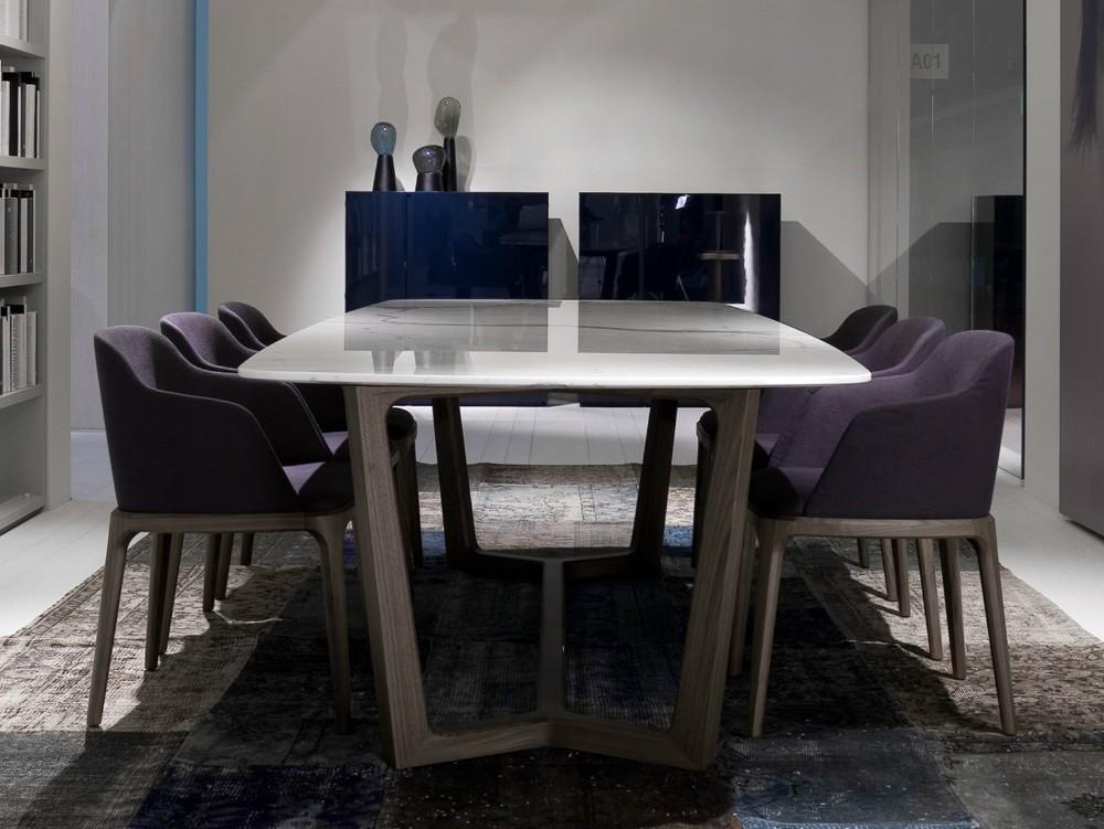 Stile europeo tavolo da pranzo set design moderno tavolo in legno