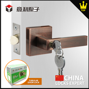 Aluminum sliding High strength tubular lever lock door lock