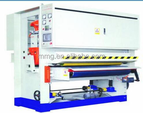 1400mm width wide belt belt sander 2 head calibrating sanding machine