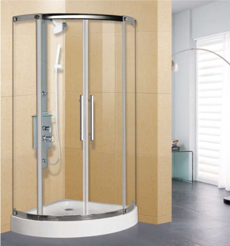 Bathroom Corner Round Shower Cabins - Buy Bathroom Corner Round ...
