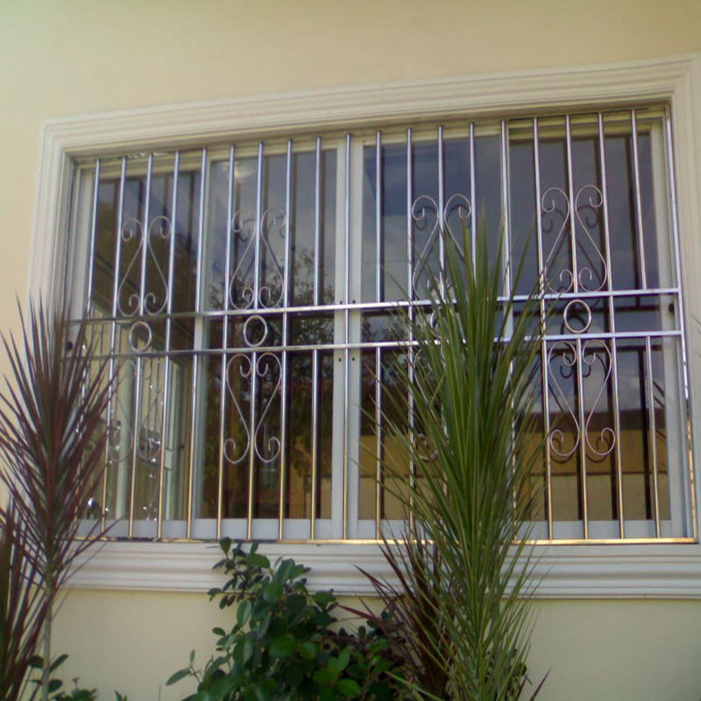 Stainless Steel Sliding Window Grill Design