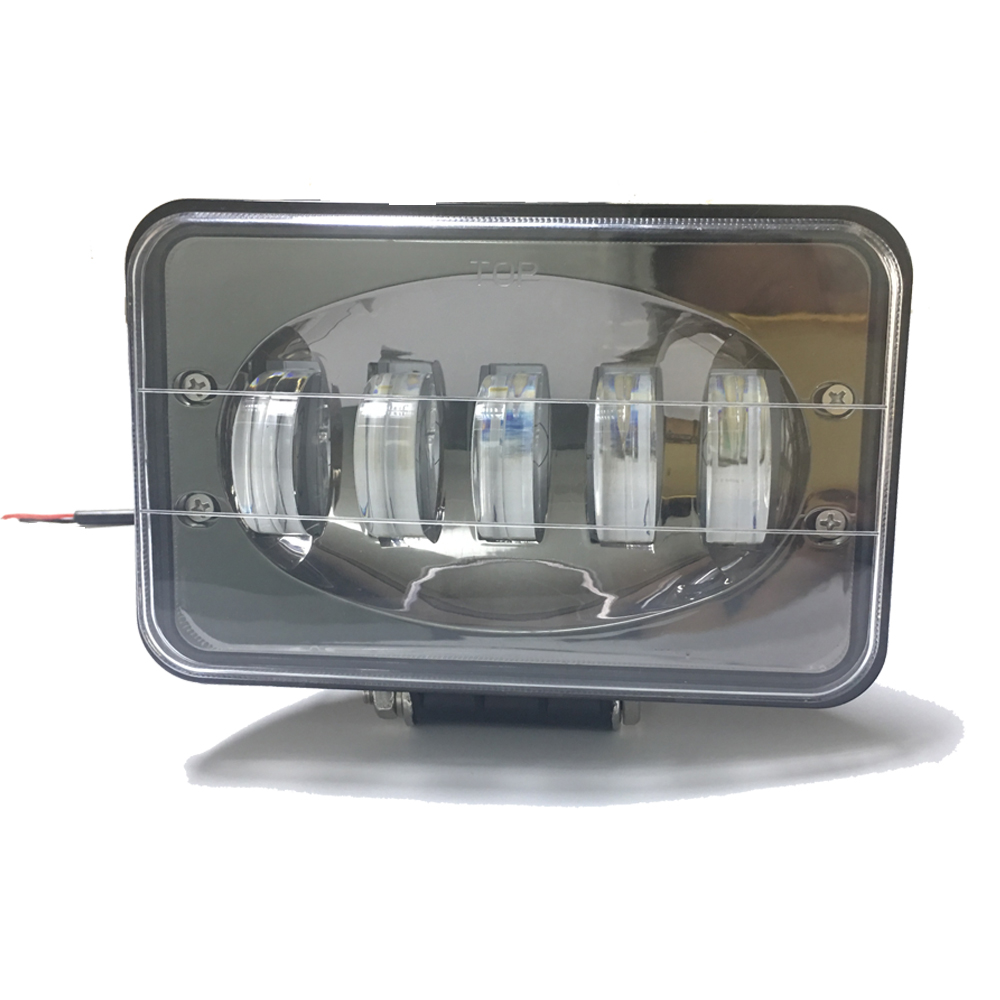 Nice Pattern High Bright 50W 5x7 5inch Truck Led Headlight 4x6 5'' Led Driving Work Light