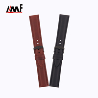 Deluxe Sublimation Watch Band 12mm 16mm 18mm 26mm Italian Oily Calf Wrist Bands