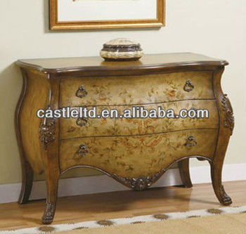 Cf30153 Ay Chest Cabinet Console Table French Style Luxury