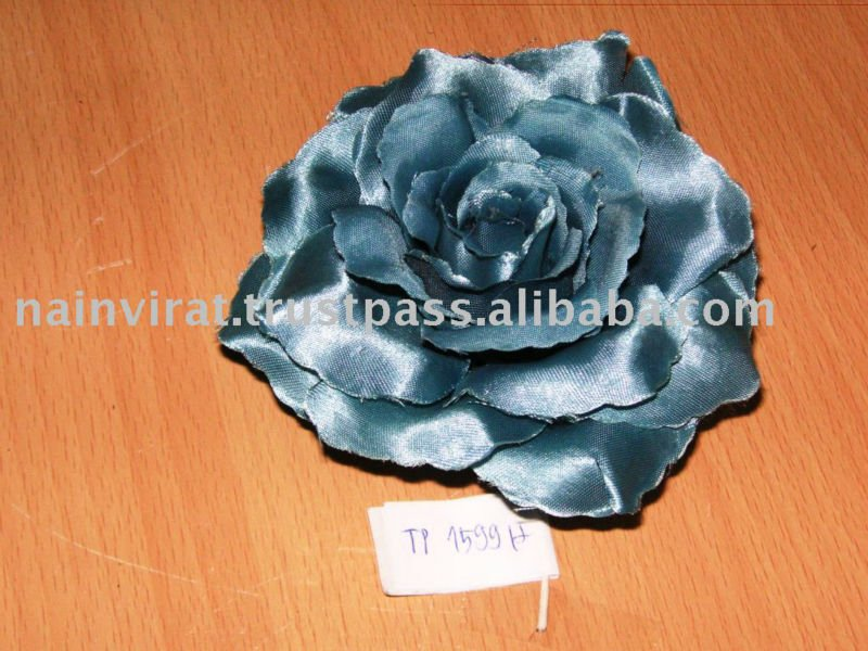 Quality Blue Artificial Small Silk Flower