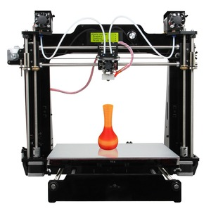 dropshipping shenzhen prusa i3 gradient 3d printer with 2 in 1 hotend