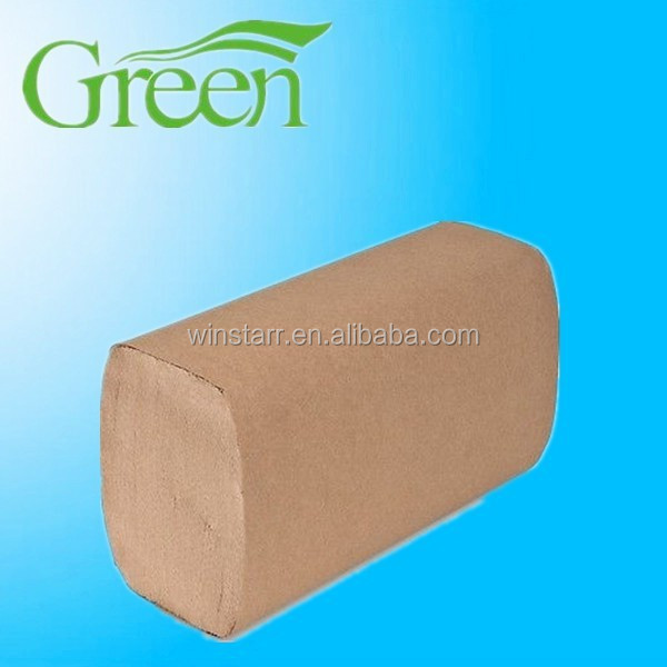 single fold hand towel paper from dong guan