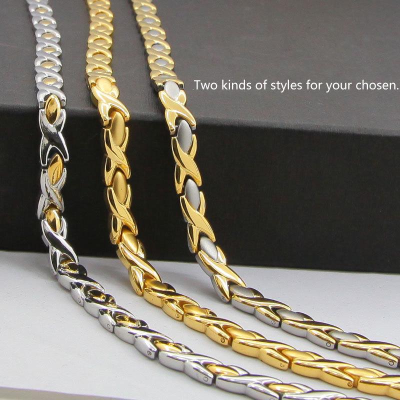 fashion gold chain pendant bio germanium