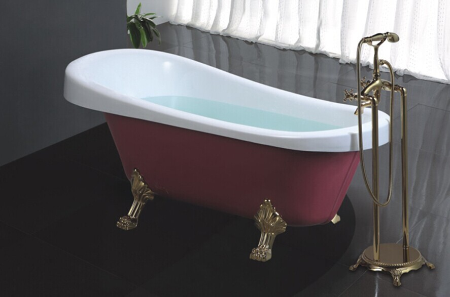Hs-b511 Freestanding Bathtub Ball Claw Feet/clawfoot Tub/black ...