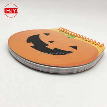 Halloween coil book, portable Notepad, custom paper notebook wholesale