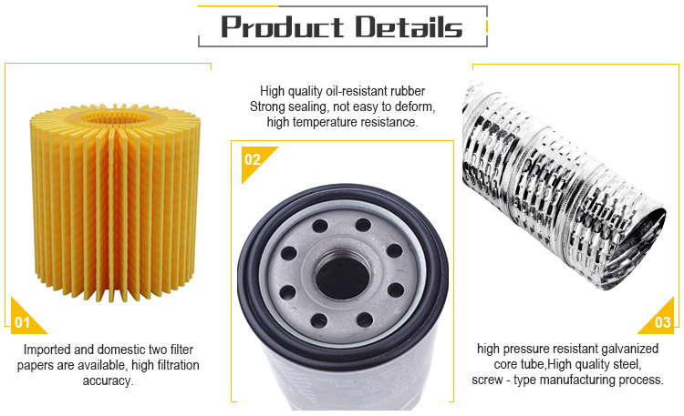 factory price 15400-RTA-003 oil filter