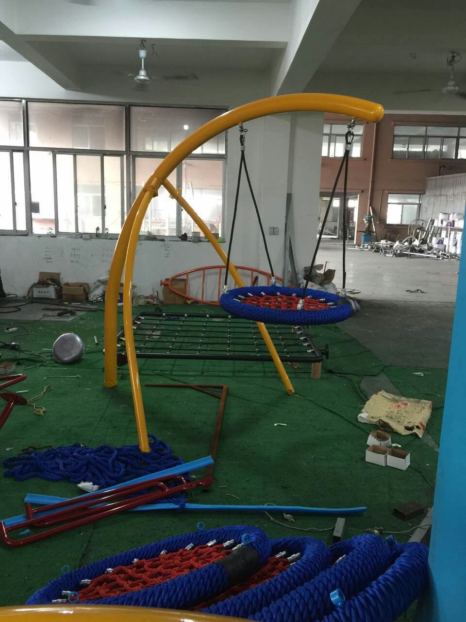 round metal swing for children net swing outdoor swing sets for