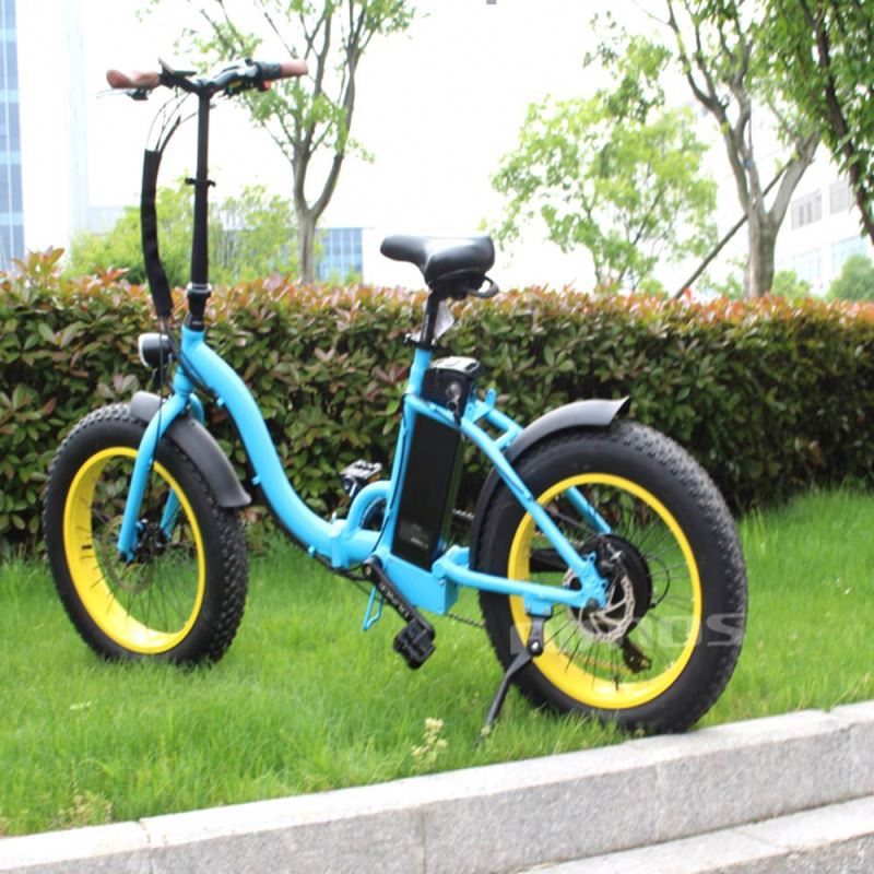 2012 Byocycle City Speed Folding Electric Bike Bicycle 36v 10 AH Lithium Battery