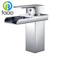 FAAO classic single lever hot cold wash basin water tap