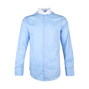 Fashion Brand Mens Shirt Long Sleeve Men's Clothing Casual Dress Shirts Solid Color Work Wear