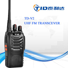 TID TD-V2 האיכות הטובה ביותר 5 w uhf 400-470 mhz <span class=keywords><strong>מכשיר</strong></span> <span class=keywords><strong>קשר</strong></span> נייד <span class=keywords><strong>מפרט</strong></span>