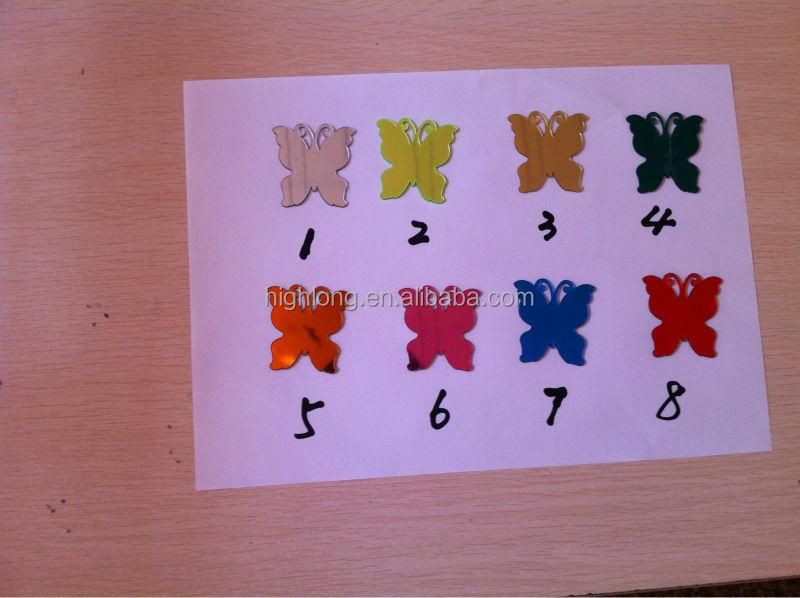 Spiegel Stickers Kopen : Vlinder muur decor spiegel stickers buy vlinder sticker muur