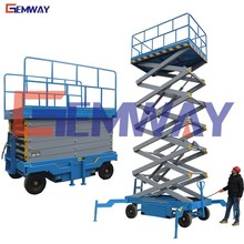 China portable manual scissor lift platform manufacturers