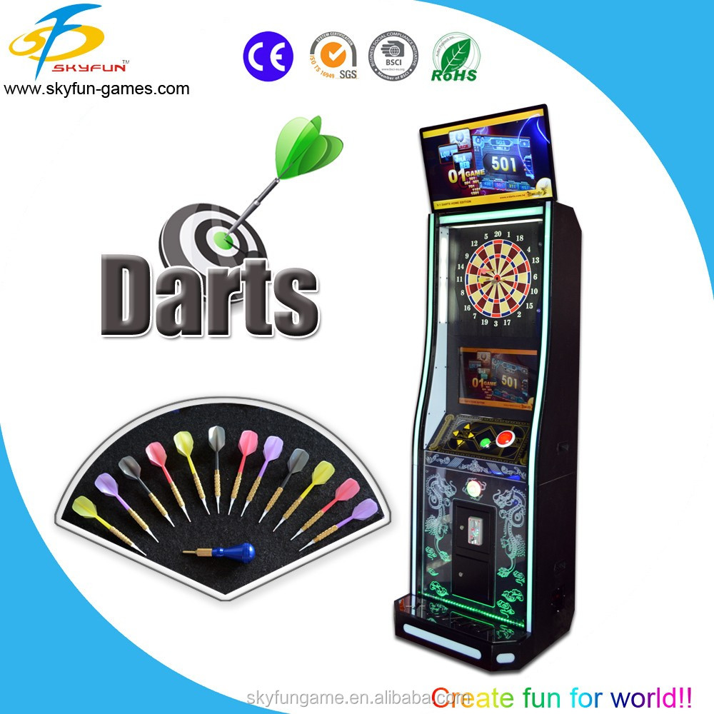 2016hot sales Newest electronic darts game machine/soft tip darts machine